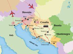 15 Day Tour of Croatia, Bosnia, Slovenia & Venice with Air - www.gate1travel.com