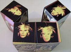 Andy Warhol Magic Cube Marilyn Monroe Queen Elizabeth Prince Charles Pop Art  #PopArt