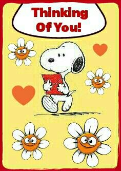 Image result for snoopy thinking of you