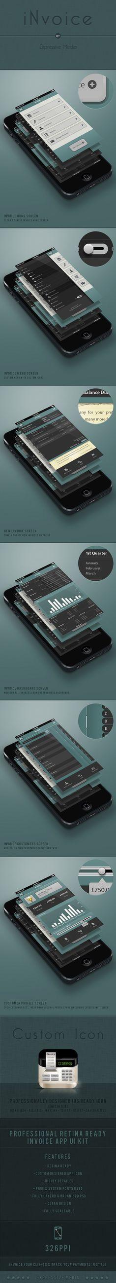 iNvoice by Expressive Media, via Behance
