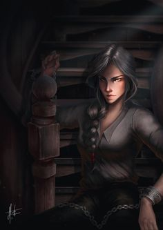 Manon was by far my favorite in EoS. She has been since QoS, so I will be drawing her more I suspect, but for now, here she is on the ship ! I'll admit, I lost motivation for this a little as it was so much work - painting all the wood, although...