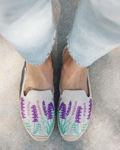 Lavender Fields, Shoe Box, Shoe Collection, How To Look Pretty, Wedge Heels, Warm Weather, Spring Fashion, Espadrilles, Slip On