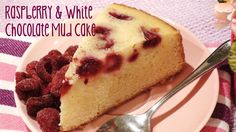 Raspberry & White Chocolate Mud Cake recipe