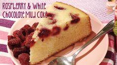 Raspberry & White Chocolate Mud Cake recipe