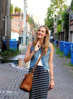 How to wear a denim vest | A Deb Shops Blog