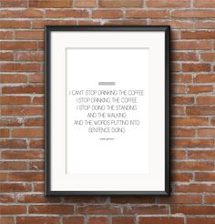 Printable Coffee Quote