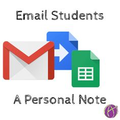 If you have ever wanted to email an individualized note to each student, it can be tedious to compose an email per student. Use the template below to easily write a note to each student and send th…