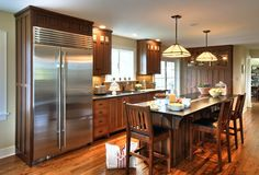 Custom cabinets, custom cabinetry, custom kitchens made for your home by Crown Point Cabinetry Craftsman Door, Craftsman Kitchen, Craftsman Style, Kitchen Cabinet Styles, Kitchen Cabinetry, Custom Kitchens, Home Kitchens, Dream Kitchens, Craftsman Chandeliers