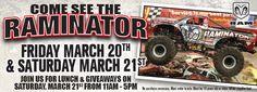 Come see the Raminator!