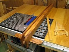 T style table saw fence