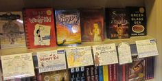 The Centered School Library: Shelf Talkers