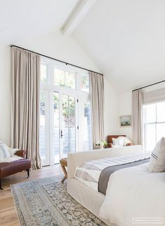 Amber Interiors does it again! You've got to see every room of this dream home | lark & linen #bedroom #neutralbedroom