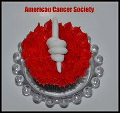 American Cancer Society Cupcakes