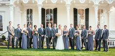 Merrimon Wynne Wedding - Bridal Party Picture - Ashley McCray Photography - NC Wedding Planner - Orangerie Events