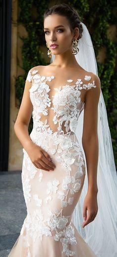 Wedding Dress by Milla Nova White Desire 2017 Bridal Collection - Betti