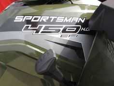New 2017 Polaris Sportsman 450 H.O. EPS Sage Green ATVs For Sale in Texas.