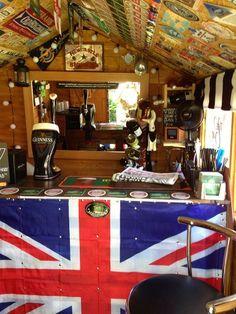 Geordie Racer Pub Shed from Leeming