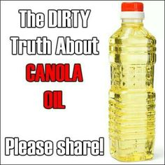 Truth about canola oil