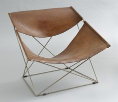 Pierre Paulin / butterfly model 675, 1963 | Furniture Design | Chair Design | Designer Chair
