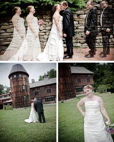 New Hampshire, Eco-Chic Wedding, © Gina DeConti, Imaginative Studios Inc.