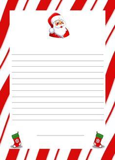 Letter to Santa, free printable.