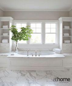 Bathroom Design Inspiration | Fairfield County, CT | athomefc.com