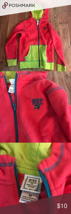 e0472a1eb2cb Girl s Nike zip front hoodie M Colorful Nike zip front hoodie Nike Shirts    Tops Sweatshirts   Hoodies