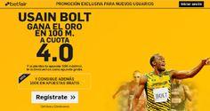 el forero jrvm y todos los bonos de deportes: betfair Usain Bolt oro 100 metros supercuota 4 Jue...