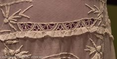 Closeup 1 of Lady Edith costume from Downton Abbey