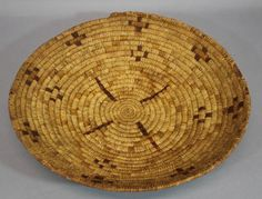 Antique-Authentic-Western-Native-American-Southwest-Indian-Basket-NR