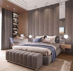 Master Bedroom on Behance Luxury Bedroom Design, Master Bedroom Design, Home Bedroom, Bedroom Decor, Bedroom Ideas, Suites, Luxurious Bedrooms, Home Interior, Interior Design Inspiration