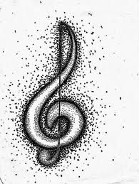 Musical Note Doodle