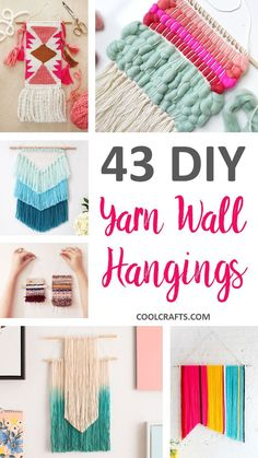 11 easy diy wall hanging ideas for your boho home diy apartment 43 inspiration diy woven wall hangings for your home coolcrafts solutioingenieria Images