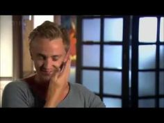 Tom Felton talks about an awkward moment with Emma Watson about how she slapped him! Funny stuff.
