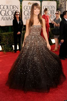 Olivia Wilde's dress for the Golden Globes 2011. Can I please have this as my wedding dress?