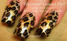 3 Nail Art Design | Traditional Leopard Print Design | DIVA Nail Tutorial #leopardprint #leopard #nails #animal #print