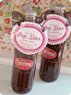 mmmmm! Cheerwine! what a cute idea for V day! by leah