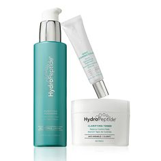 HydroPeptide's Serioulsy Spotless Value Set contains a comprehensive collection to create a clear, flawless complexion.