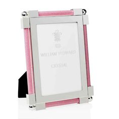 These are truly beautiful photo frames with a shagreen coloured edging, on a quality silver plated surround. The backs are wooden with a silver plated catch. Available in three sizes, these frames will look delightful in any surrounding. Pretty In Pink, Picture Frames, Silver Plate, Crystals, Classic, Pictures, Beautiful, Color, Products