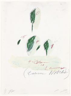 - garadinervi:   Cy Twombly, Natural History, Part...
