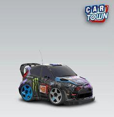 Ford Fiesta RSI WRC 2012