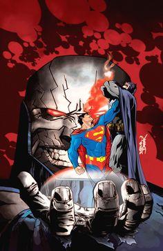 Darkseid by Derek Fridolfs And Dustin Nguyen