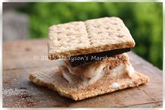 Cinnamon & Sugar S'more - Creative S'mores by Madyson's Marshmallows