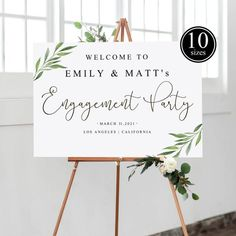 ❤❤❤Youre getting married!❤❤❤ Welcome to Our Engagement Sign Engagement Party Themes, Engagement Signs, Engagement Party Invitations, Wedding Engagement, Wedding Signs, Diy Wedding, Wedding Cake, Wedding Ideas, Party Poster