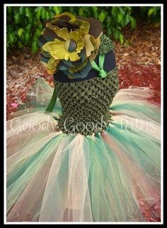 LITTLE CAMO CUTIE Crocheted Tutu Dress in by goodygoodytutus, $40.00