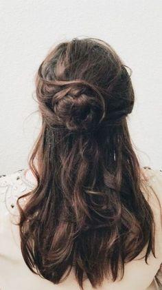 BEAUTY & THE BEAST INSPIRED HAIR