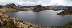 Ruta del Agua, Reserva Ecológica Cayambe Coca, Ecuador.