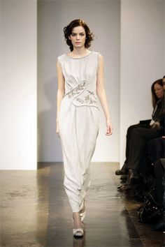 Nina Ricci Pre-Fall 2008 Fashion Show - Diana Farkhullina