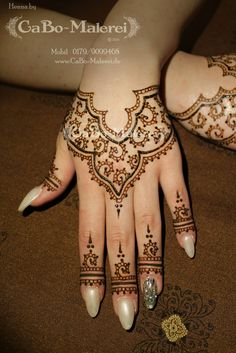 Simple Modern #Henna By CaBo-Malerei.