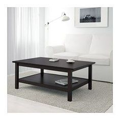 HEMNES Sofabord, sortbrun - 118x75 cm - IKEA
